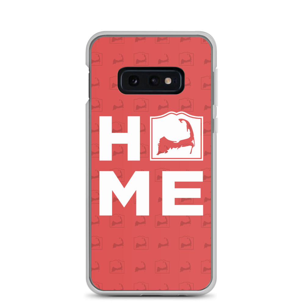 Cape Cod HOME Red Samsung S10 S7 Case