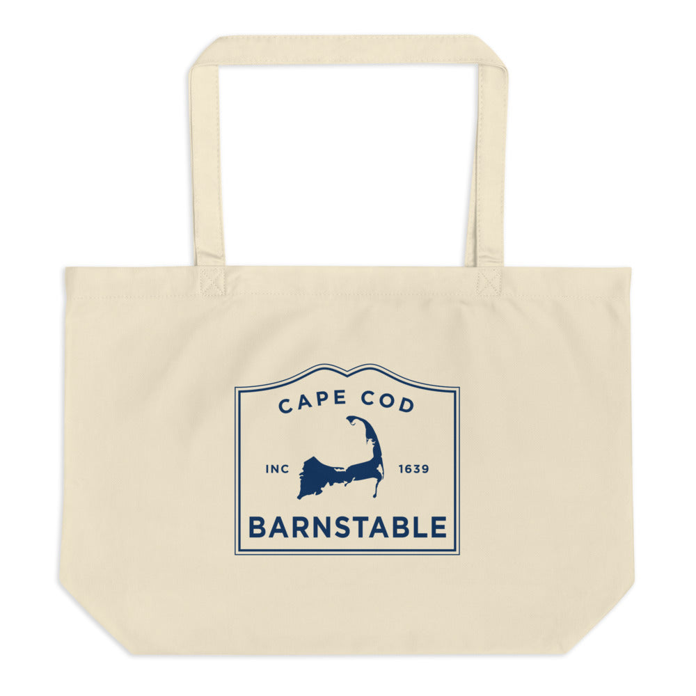 Barnstable Cape Cod Large Tote Bag