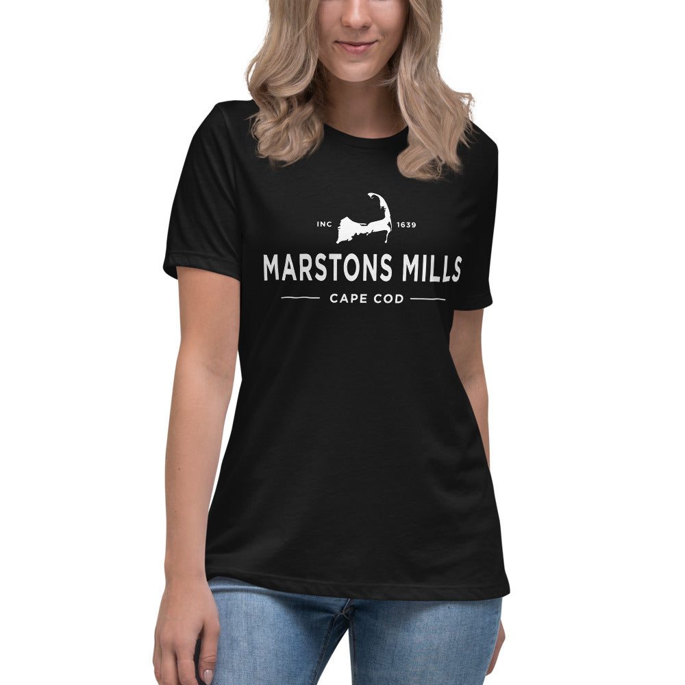 Marstons Mills Cape Cod Women's Relaxed T-Shirt