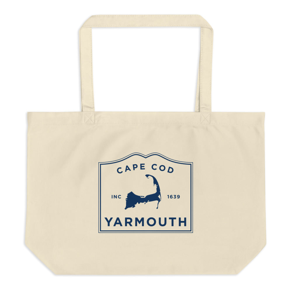 Yarmouth Cape Cod Large Tote Bag