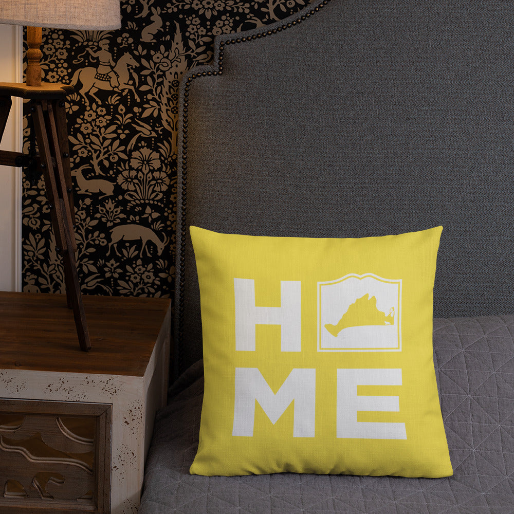 Martha's Vineyard HOME Pillow - Yellow