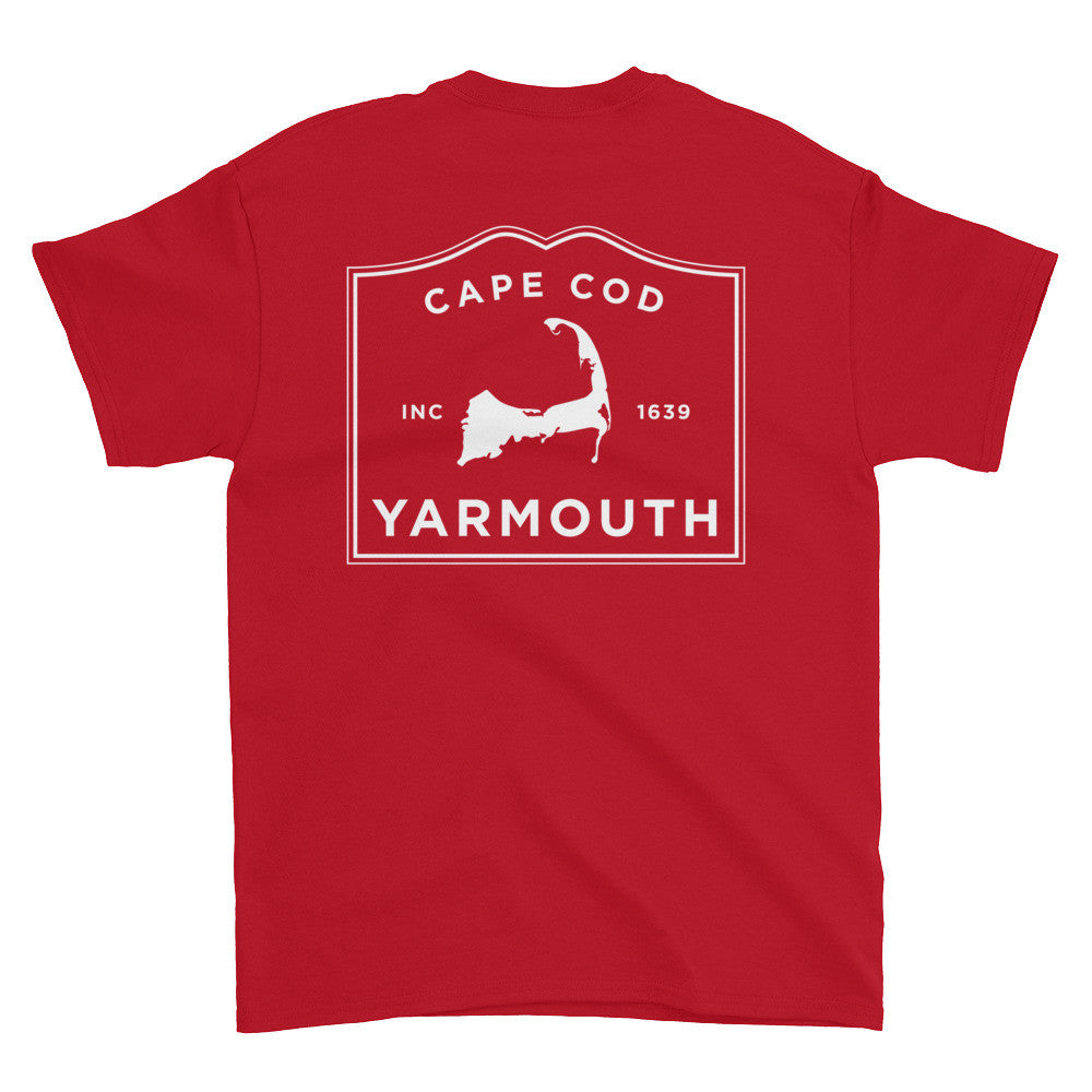 Yarmouth Cape Cod Short sleeve t-shirt (front & back)