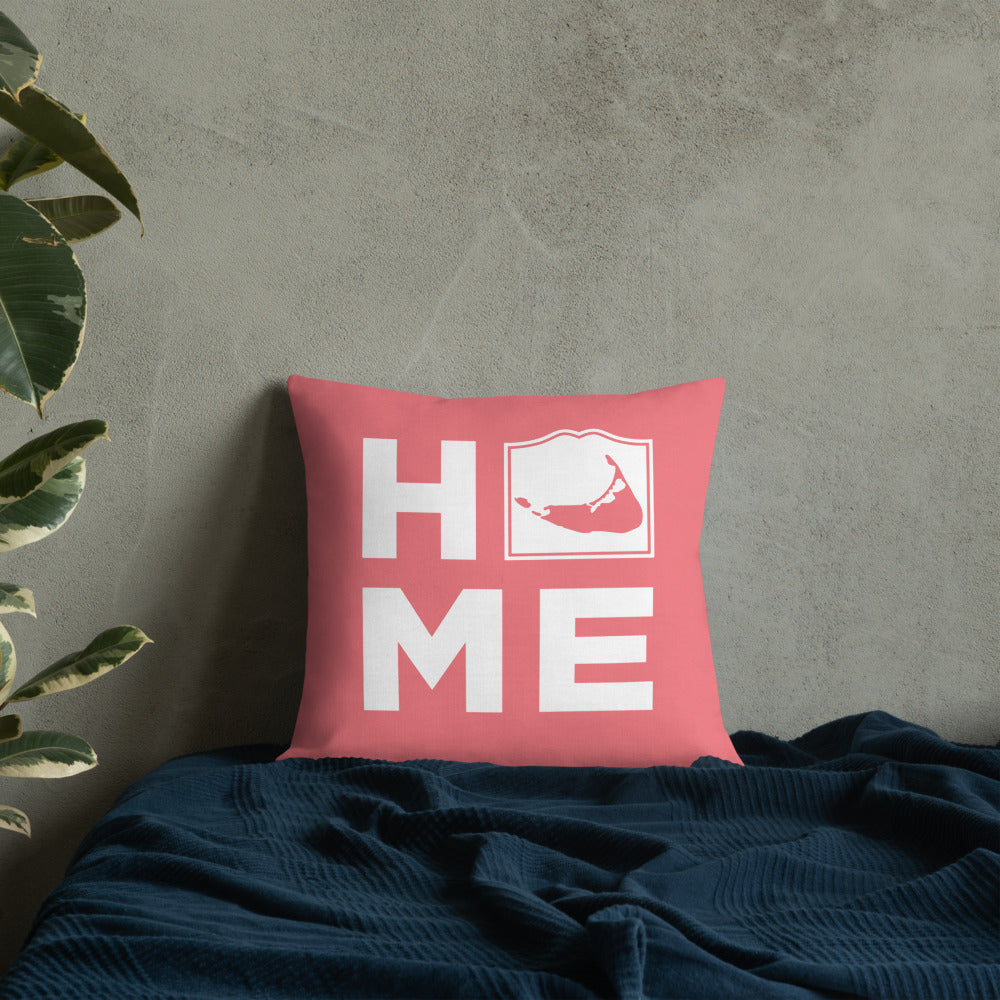 Nantucket HOME Pillow - Pink
