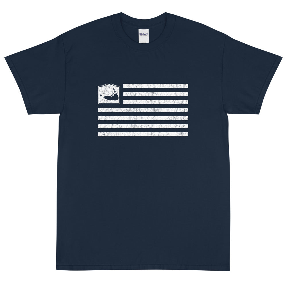 Nantucket Flag Short Sleeve T-Shirt
