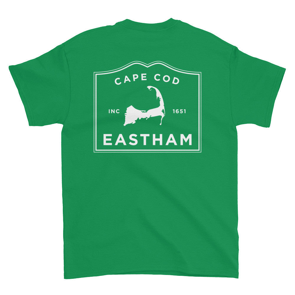 Eastham Cape Cod Short sleeve t-shirt (front & back)