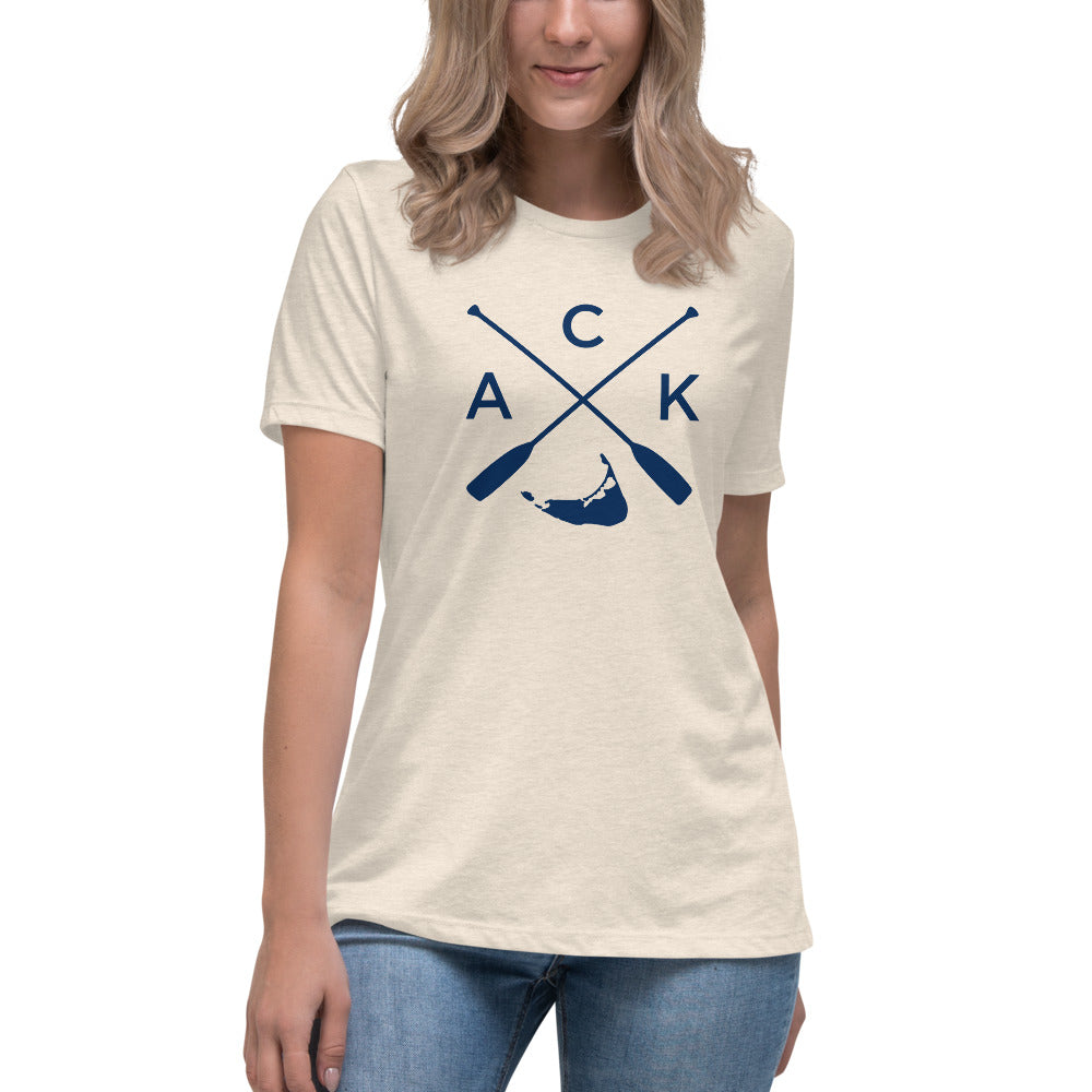 Nantucket ACK Women's Relaxed T-Shirt