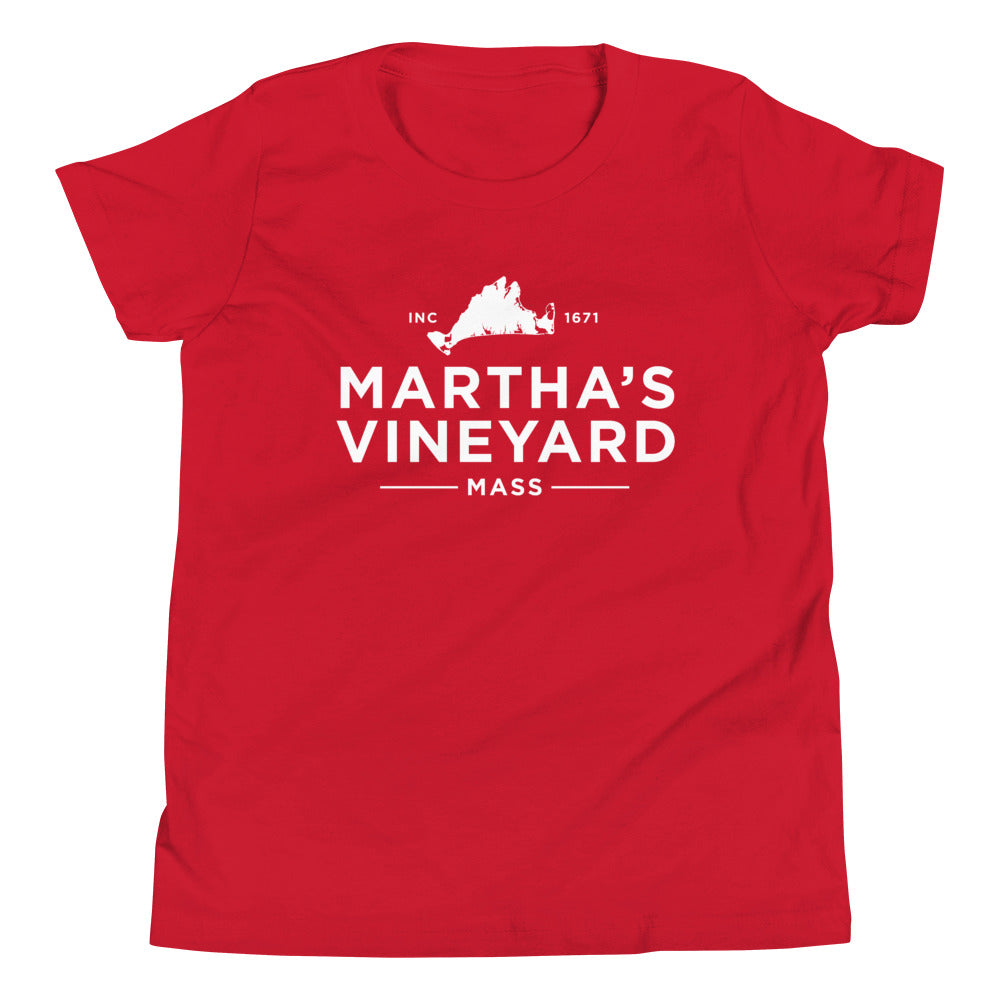 Martha's Vineyard Youth Short Sleeve T-Shirt