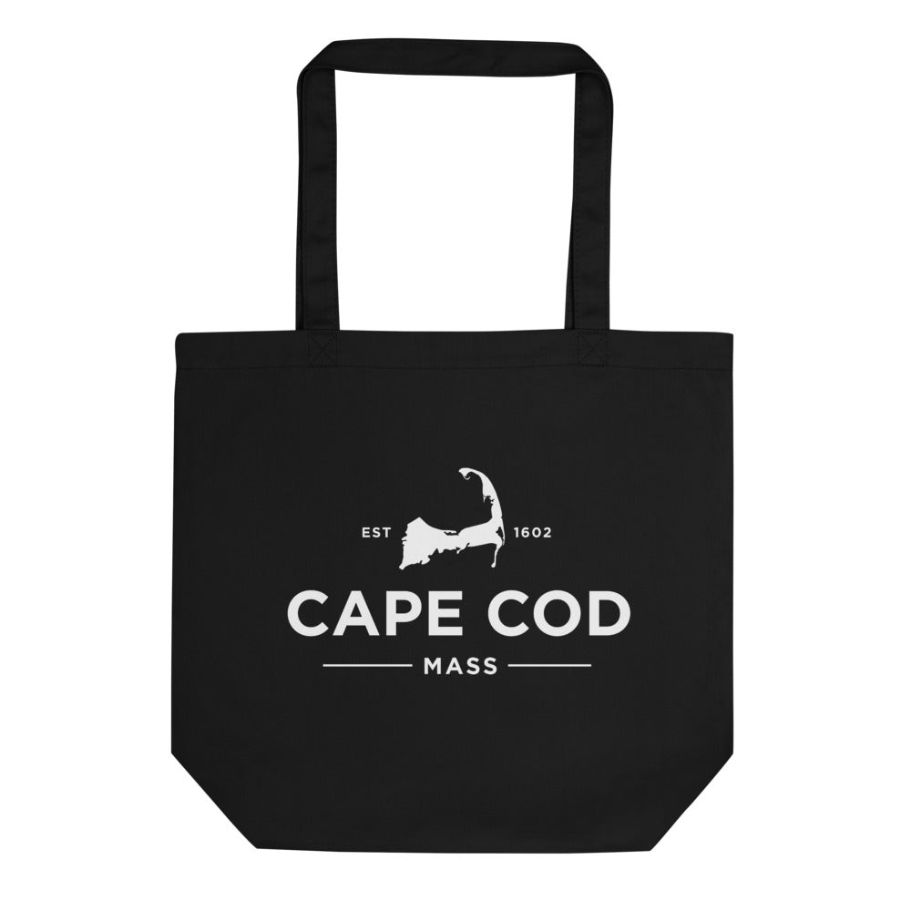 Cape Cod Black Tote Bag