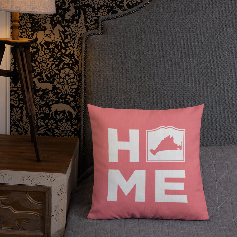Martha's Vineyard HOME Pillow - Pink