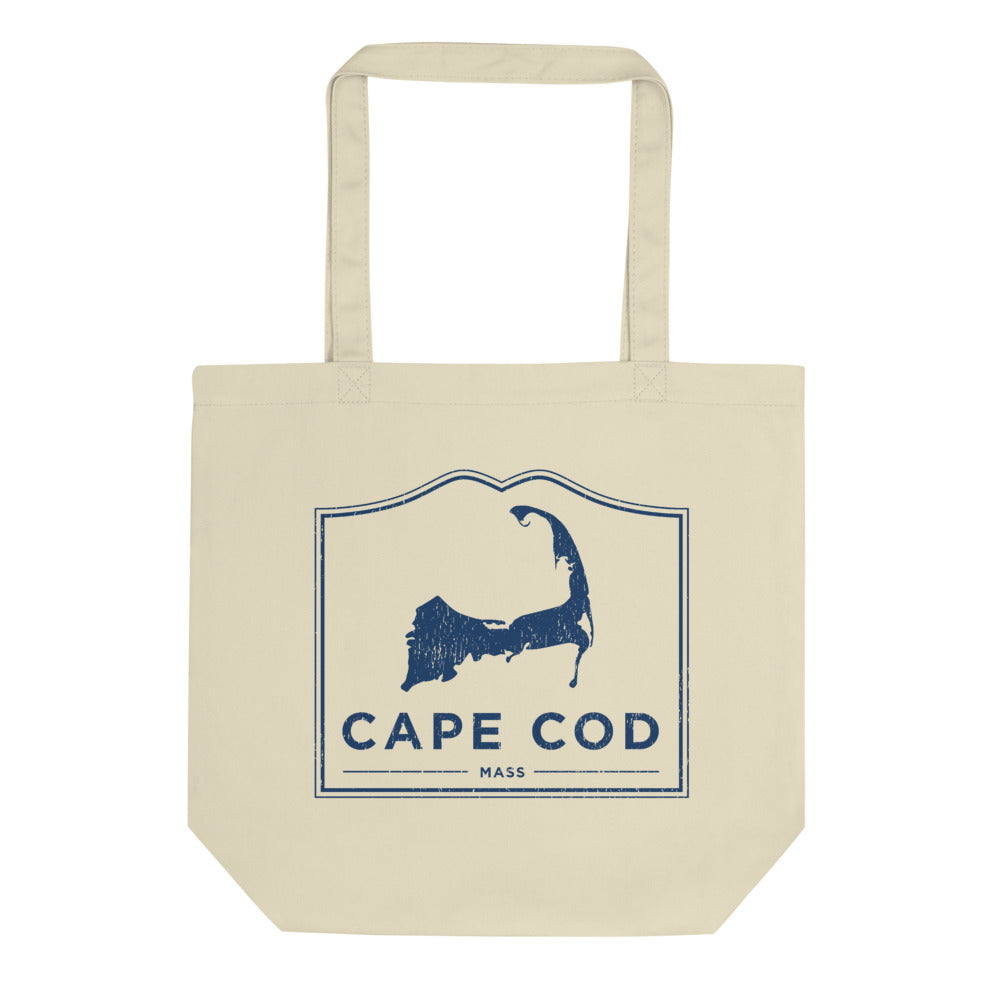 Cape Cod Mass Tote Bag Vintage Look