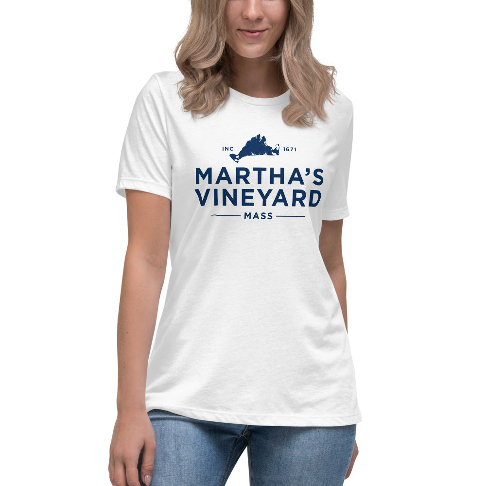 Martha's Vineyard Women's Relaxed T-Shirt