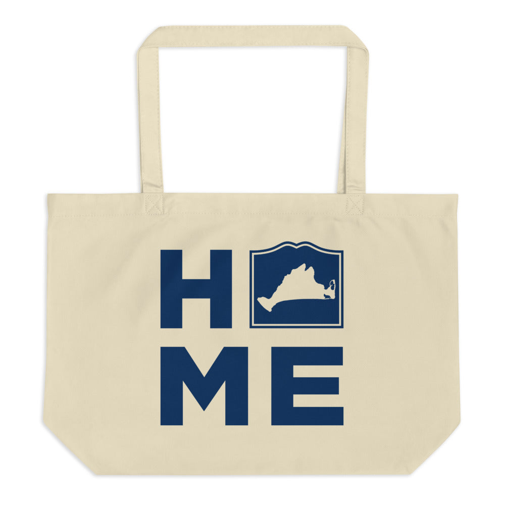 Martha's Vineyard HOME Large Tote Bag