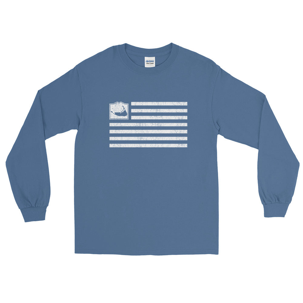 Nantucket Flag Long Sleeve Shirt