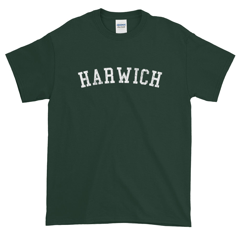 Harwich Cape Cod Short Sleeve T-Shirt Vintage Look
