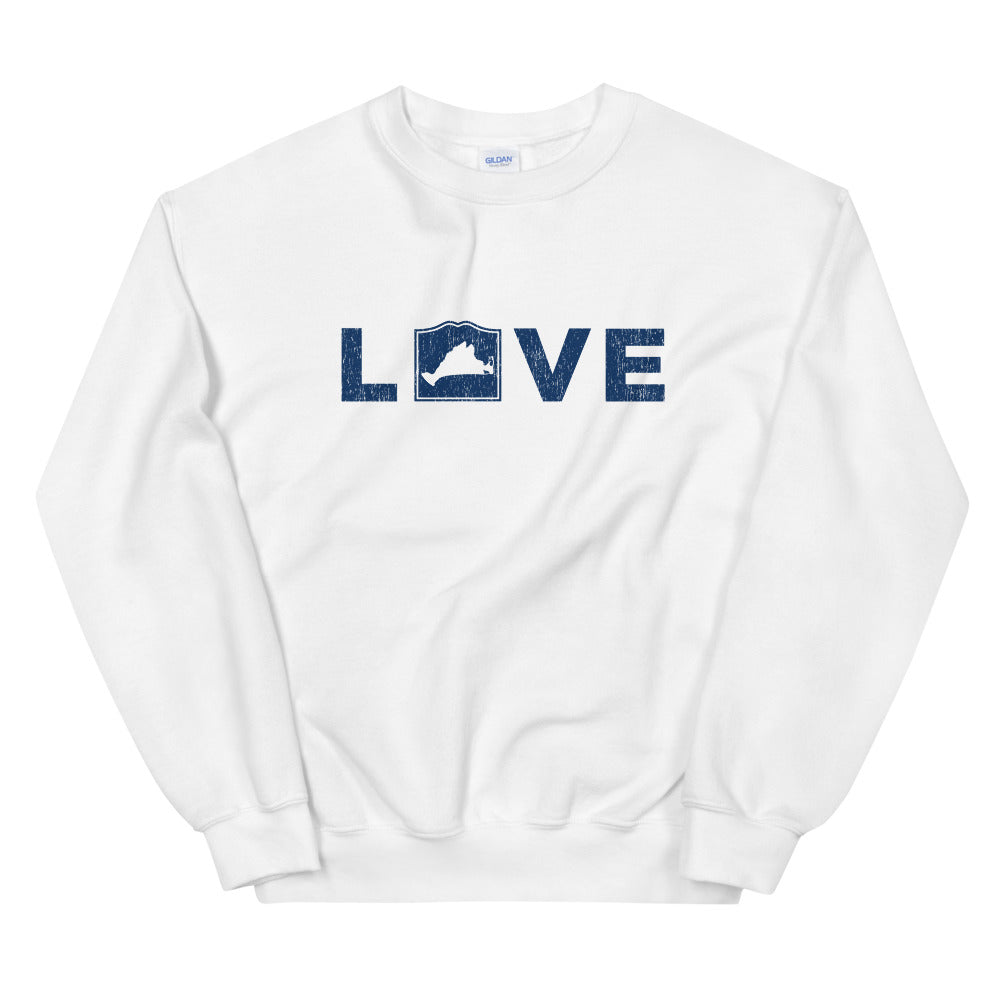 Martha's Vineyard LOVE Sweatshirt