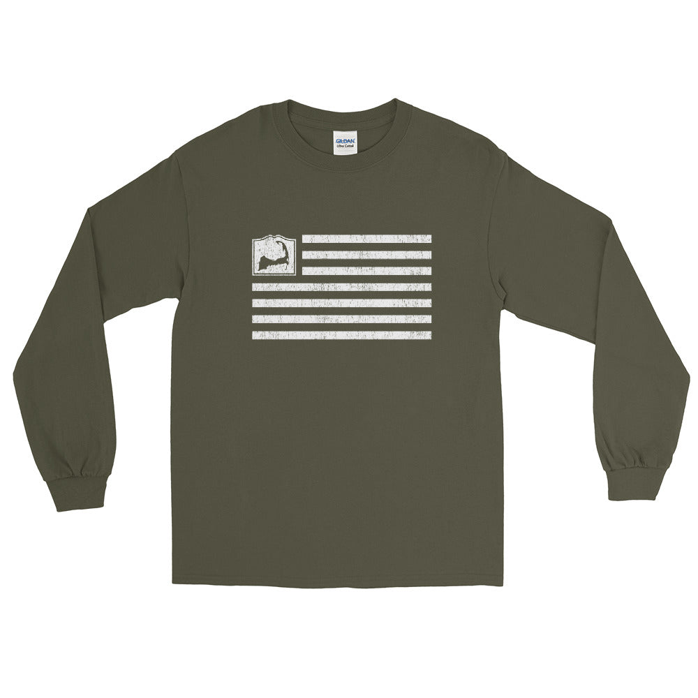 Cape Cod Flag Long Sleeve Shirt