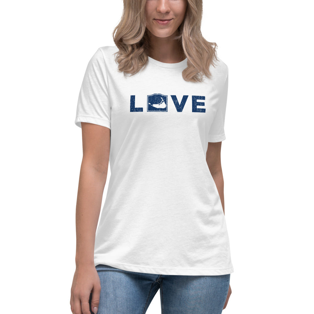 Nantucket LOVE Women's Relaxed T-Shirt