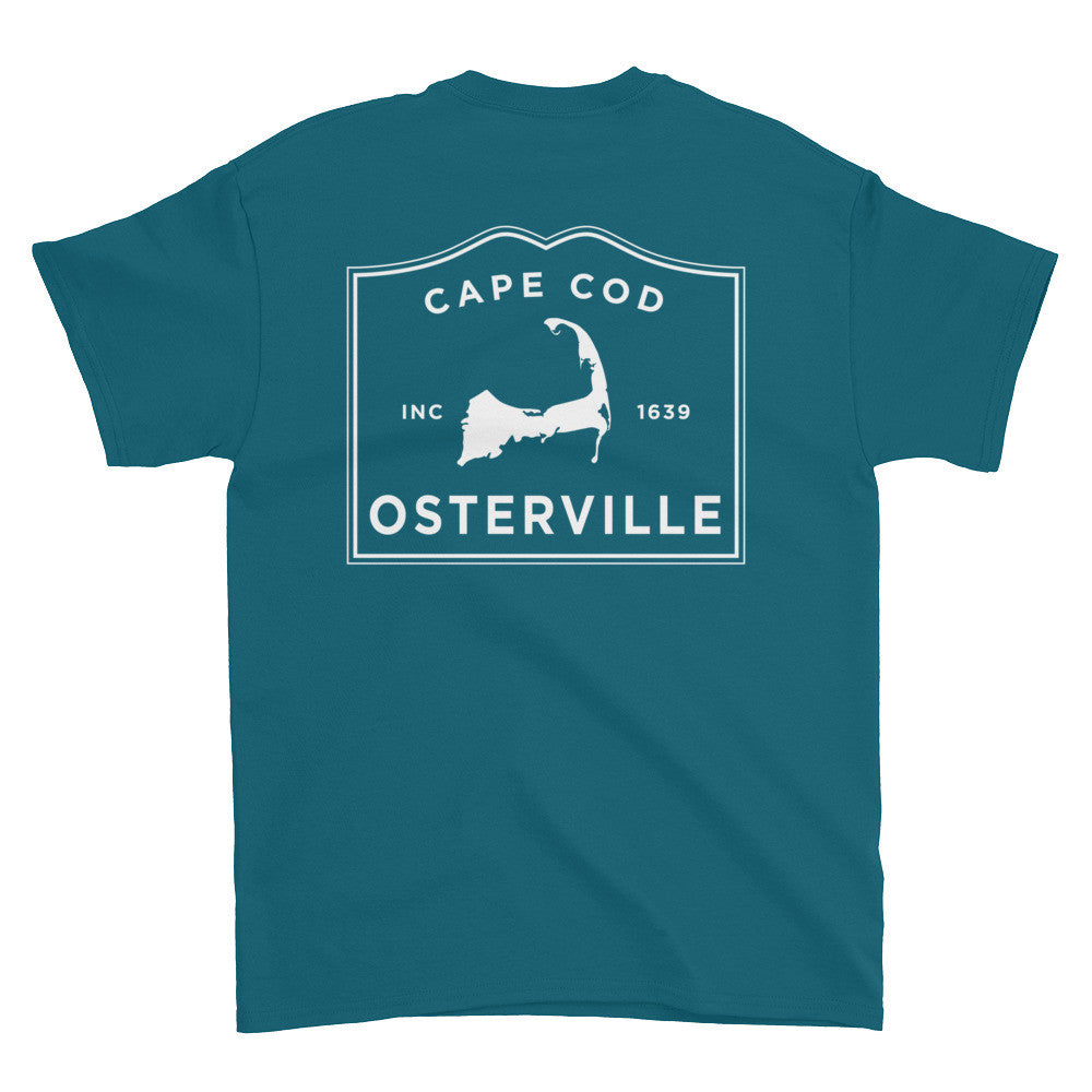 Osterville Cape Cod Short sleeve t-shirt (front & back)