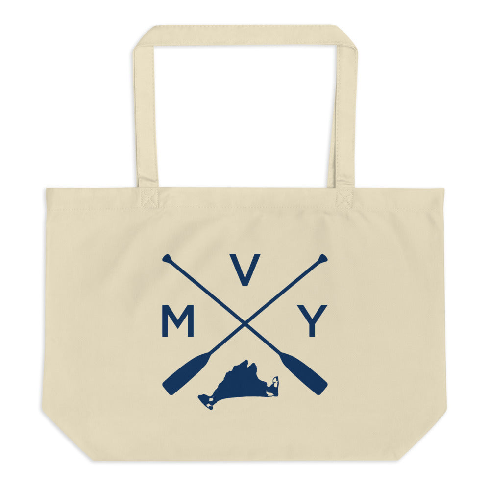 Martha's Vineyard MVY Large Tote Bag