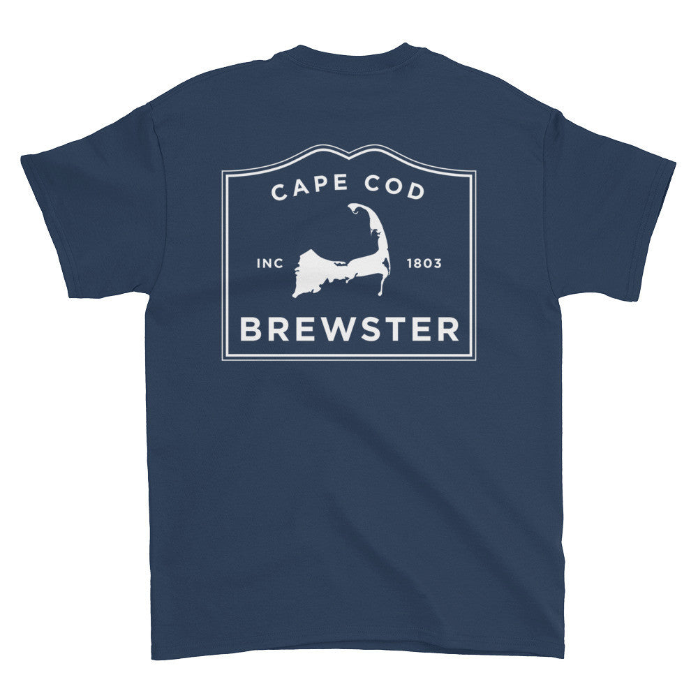 Brewster Cape Cod Short sleeve t-shirt (front & back)