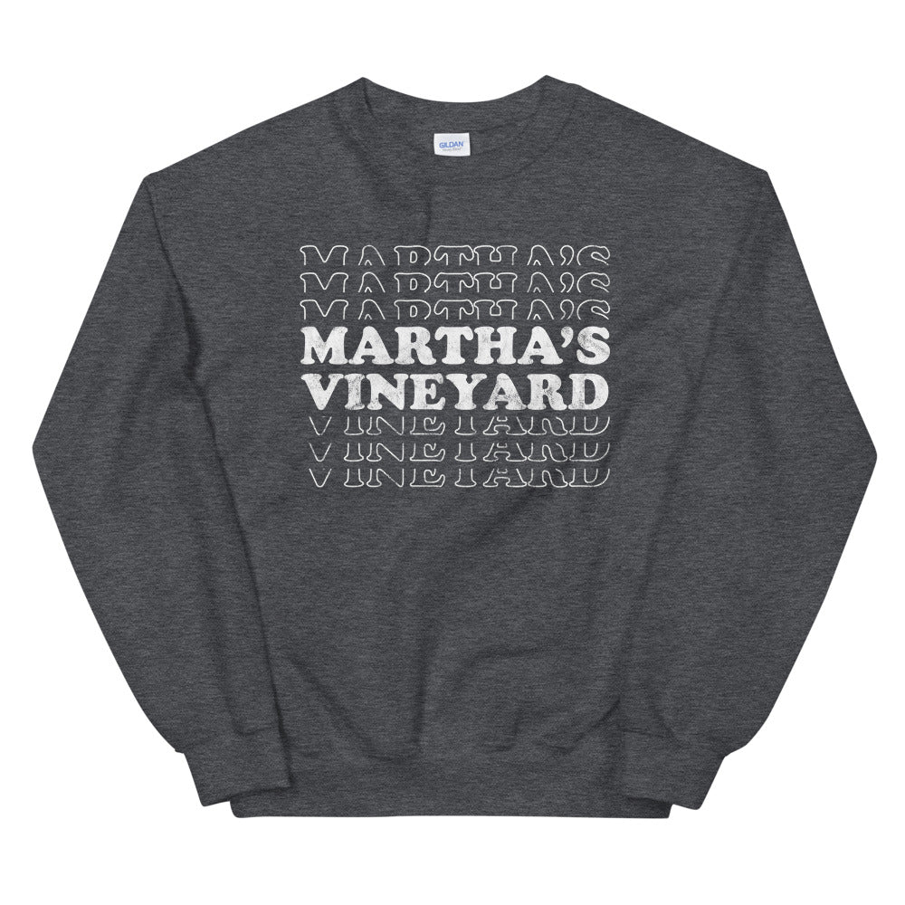 Martha's Vineyard Retro Sweatshirt