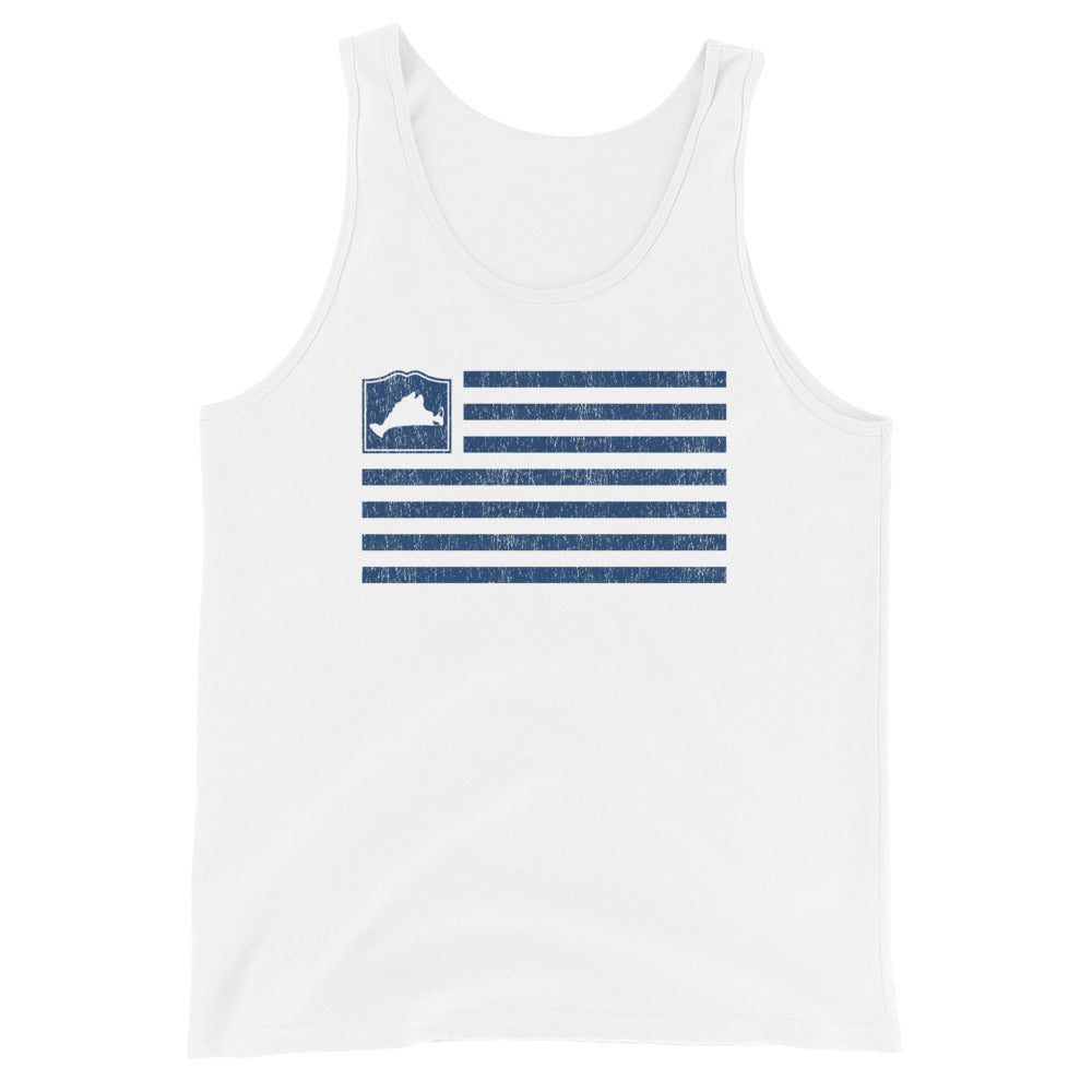Martha's Vineyard Flag Tank Top