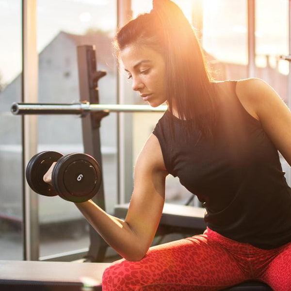 Strong is the New Sexy: how protein powder affects woman's muscles