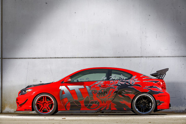 "2005 Scion tC ""Gojira"""