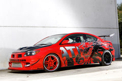 2005 scion tc gojira red