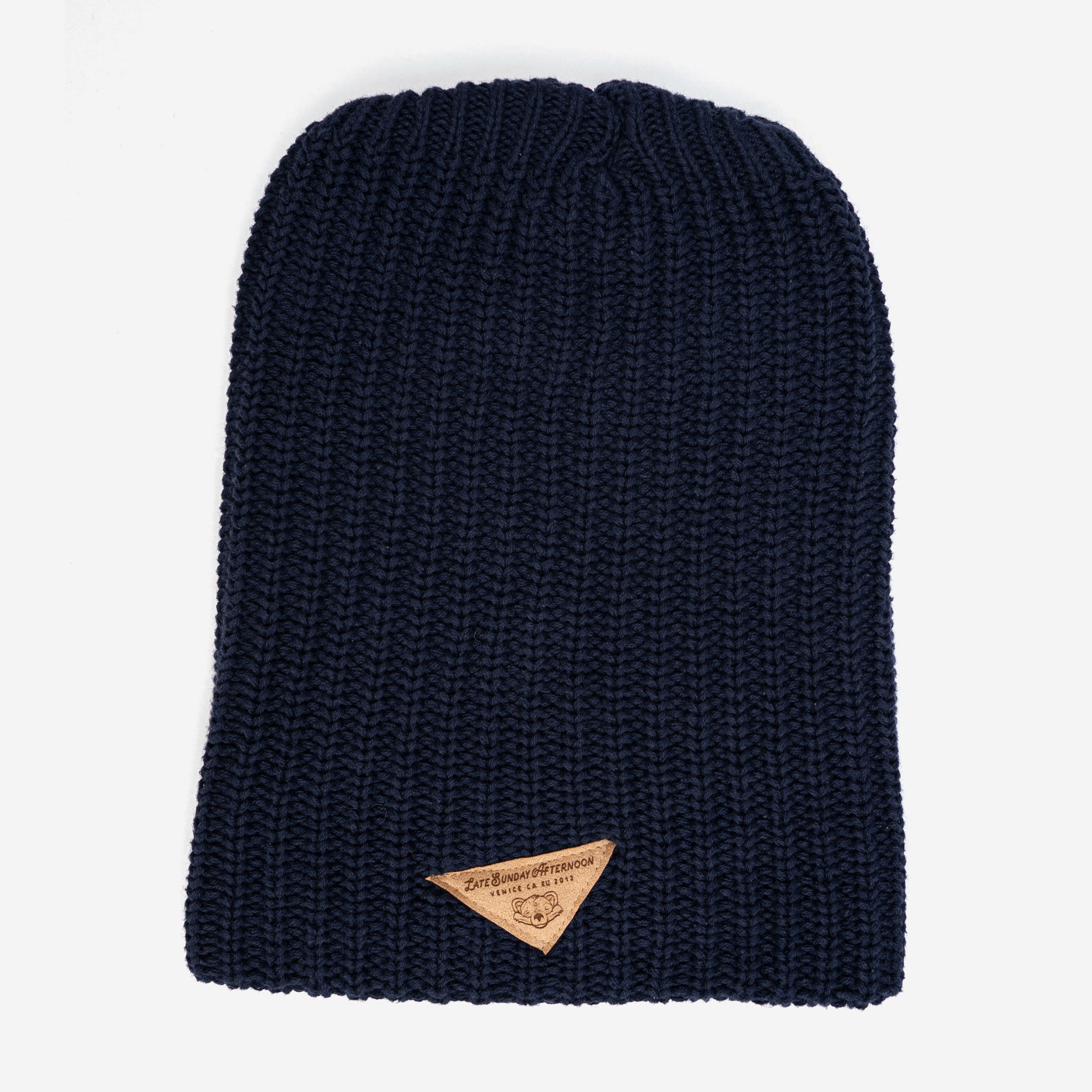 Navy LSA Slouch Beanie