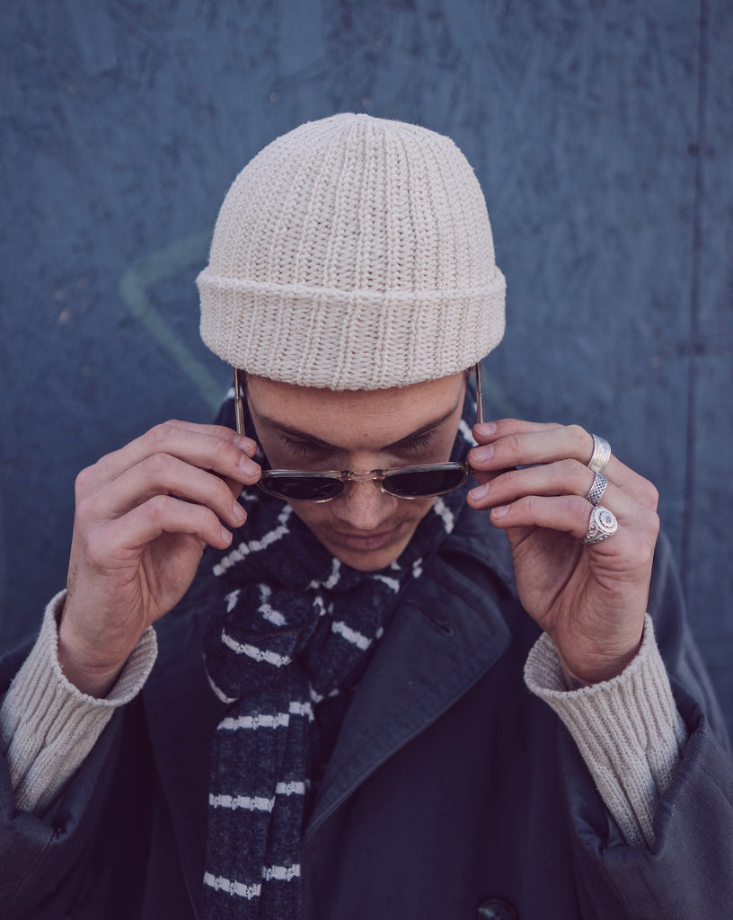 Cream LSA Watchman Beanie