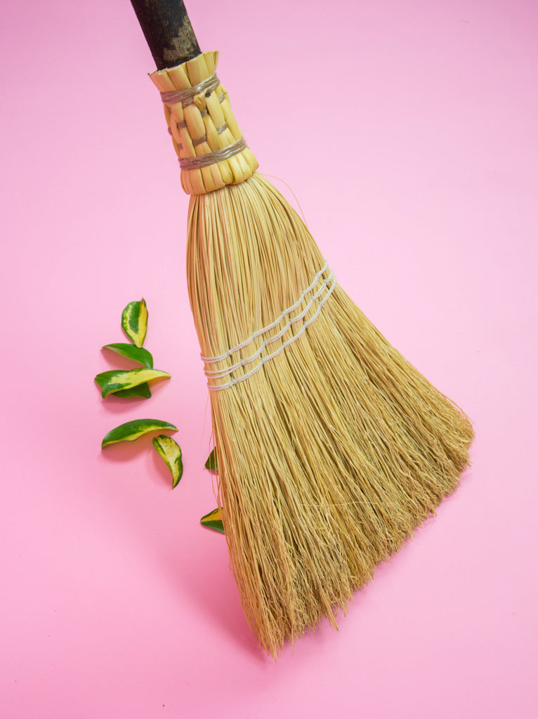 Wizard Kitchen Broom, Natural
