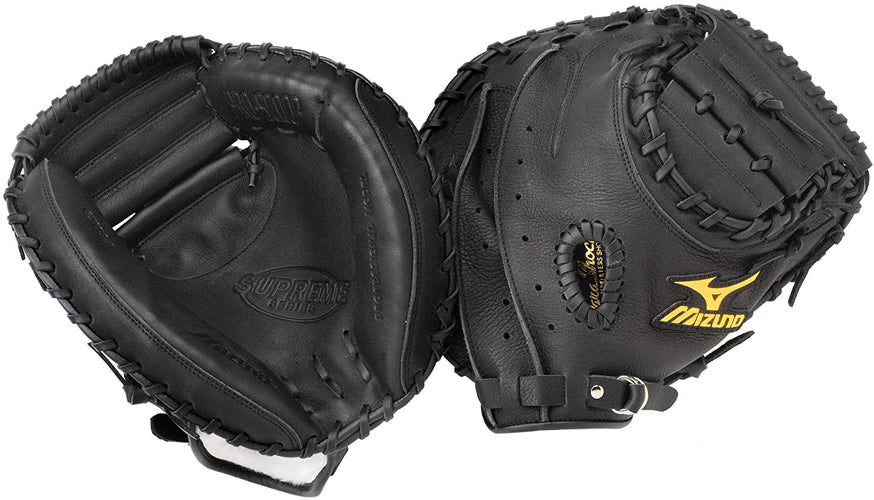 Mizuno Supreme GXC94 Youth Catcher's Mitt (33.5-Inch) RH Throw