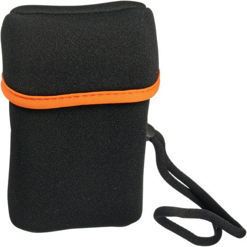 Olympus Carrying Case (Flap) for Camera - Black, Orange