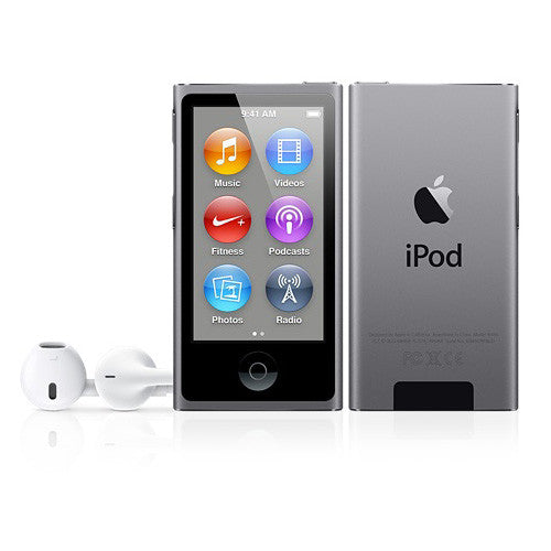 Apple iPod nano 7G 16 GB Space Gray Digital Multimedia Player