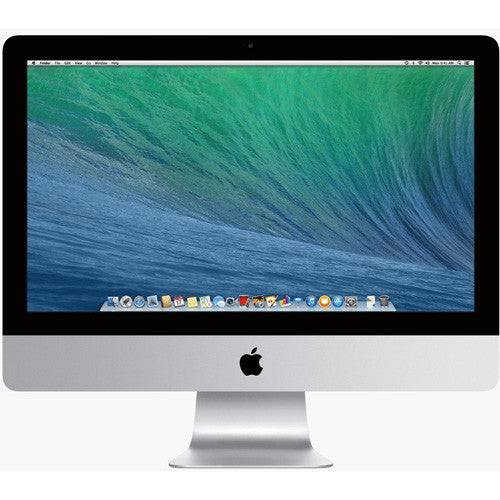 Apple iMac MF883LL/A All-in-One Computer - Intel Core i5 1.40 GHz - Desktop - Silver