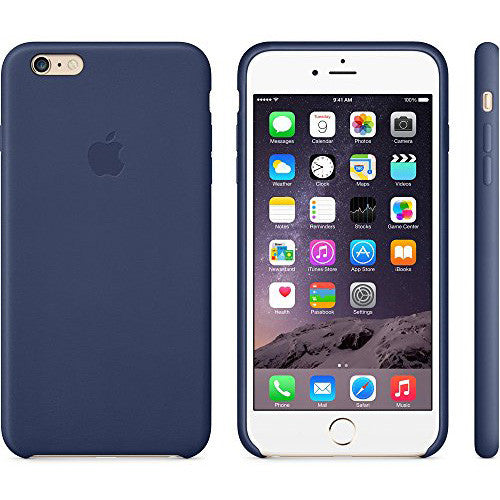 Apple iPhone 6 Leather Case - Midnight Blue