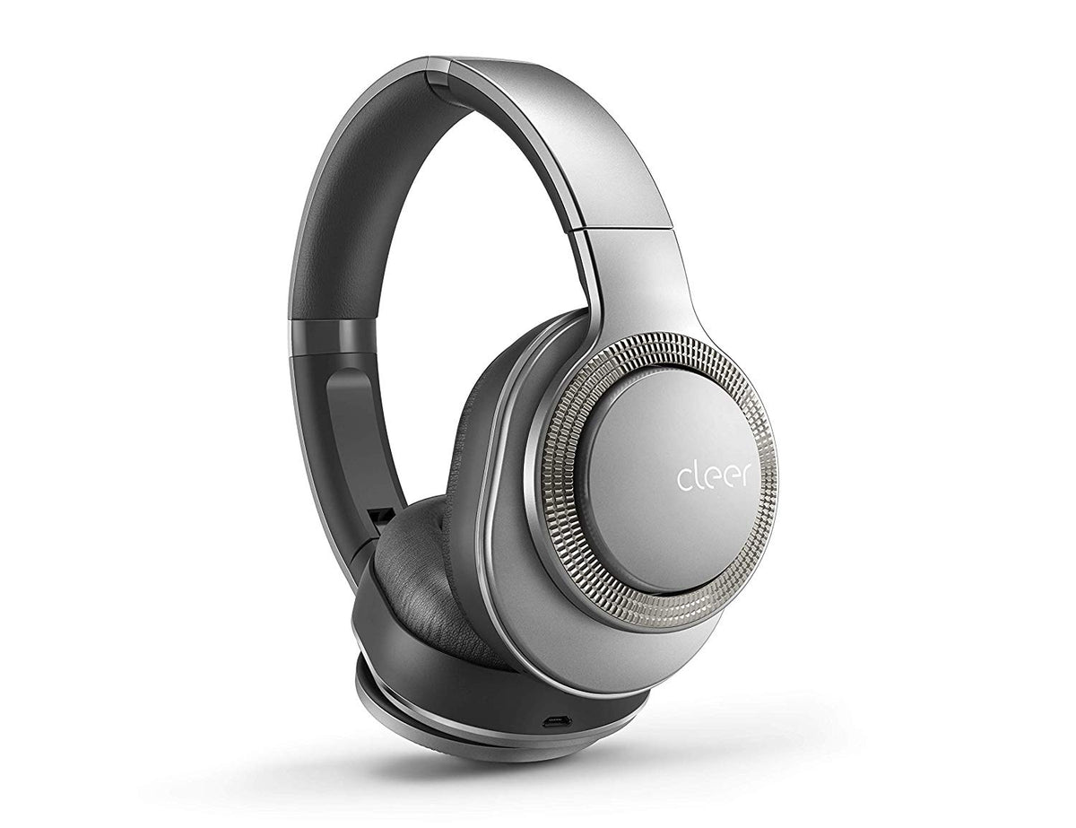 ea78a7e6242 Cleer Flow Wireless Noise Cancelling Headphones - Silver – DataVision