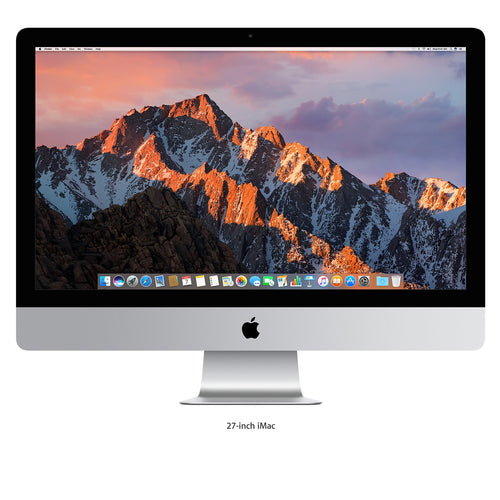 Apple iMac 27-inch Retina 5K 3.5GHz quad-core i5 8GB 1TB Fusion - 2017
