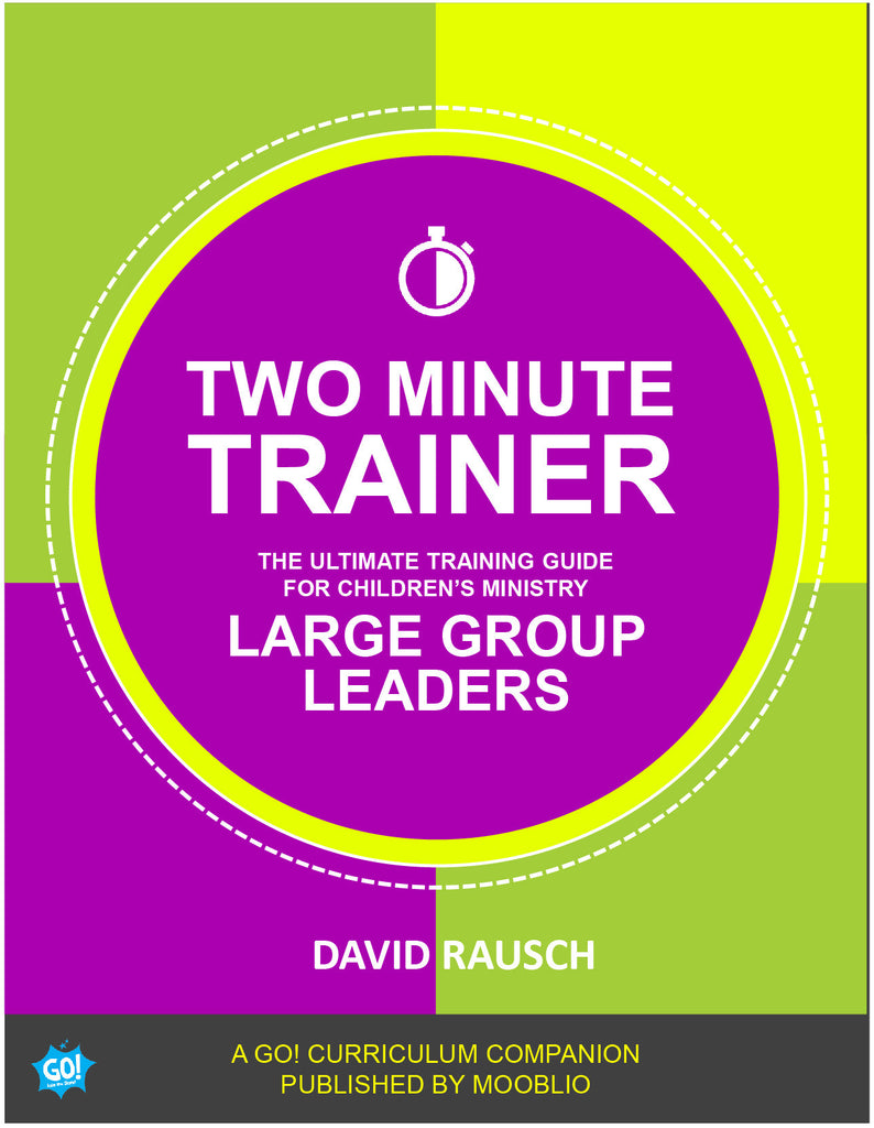 Two Minute Trainer: Large Group Leader Ebook