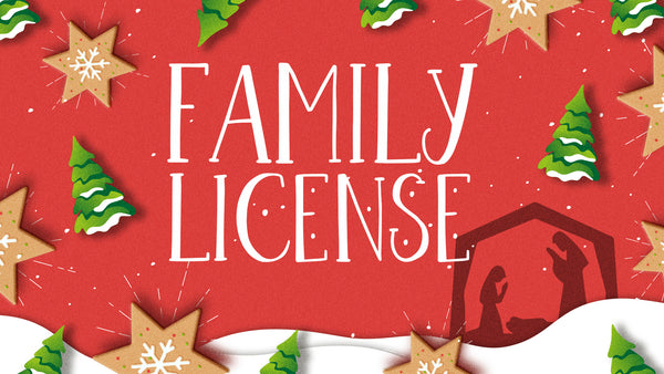 Dough Holy Night - Family License