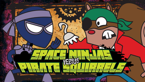 Space Ninjas vs Pirate Squirrels: The Wheel of Cheese