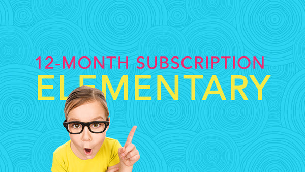12-Month Subscription ELEMENTARY (4 payments)
