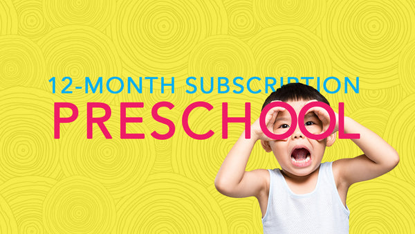 12-Month Subscription PRESCHOOL (4 payments)