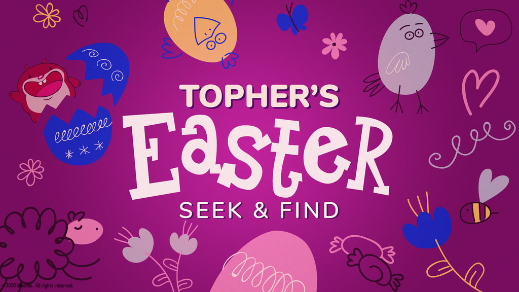 Topher's Easter Seek and Find Preschool (Easter CPC Unit)