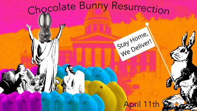 Everybunny's Coming Out on Easter, But You Peeps..