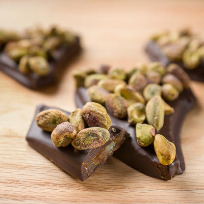 Maple Toffee with Pistachios