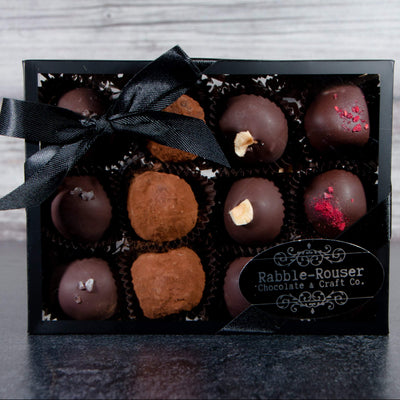 Box of assorted truffles