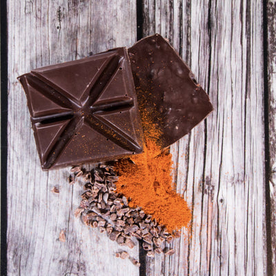 Spicy Cayenne Dark Chocolate Square - Rabble-Rouser Chocolate & Craft