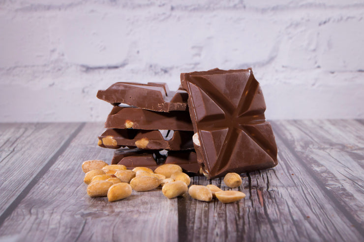 Peanut Butter Milk Chocolate Square - Rabble-Rouser Chocolate & Craft